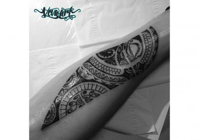 Maurské tetovaní