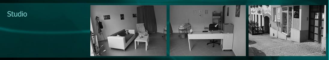Studio se nachází v klidném prostředí, je zde soukromí a klid. Interiér je zařízen jednoduše a útulně.